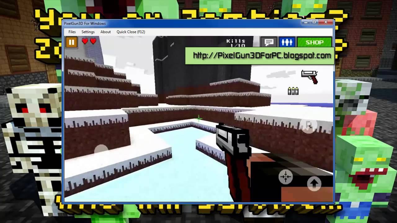 Игра pixel gun 3d скачать на компьютер