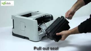 HP P2055 Toner Cartridge Replacement - user guide CE505A