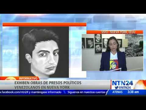 """""""Arte tras las rejas"""": Las obras de presos políticos venezolanos llegan a Nueva York"""
