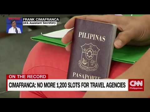 On The Record: Probing The Passport Booking System