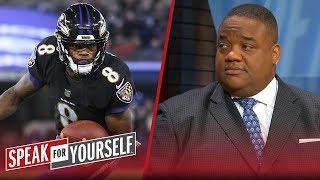 Jason Whitlock believes Lamar Jackson's skillset cautions WRs from Ravens   NFL   SPEAK FOR YOURSELF