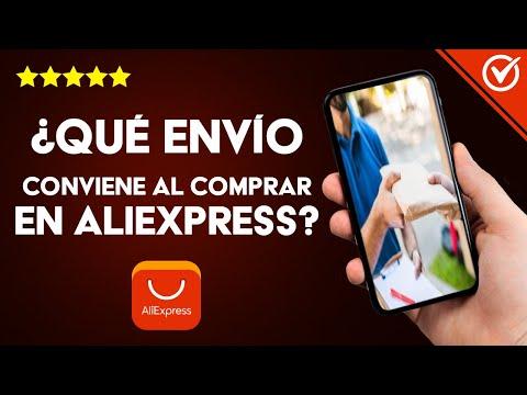 Cómo Saber qué Clase de Envío me Conviene más al Comprar en AliExpress