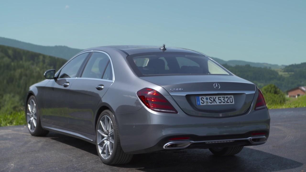 Mercedes-Benz S 500 Exterior Design in Selenite grey ...