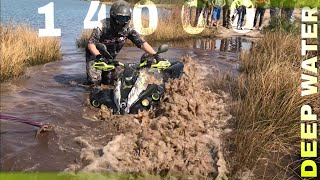 HOW to WASTE 14000 Euro | ATV IN DEEP WATER  Can am Renegade 1000ccm  XXC  | OCNR