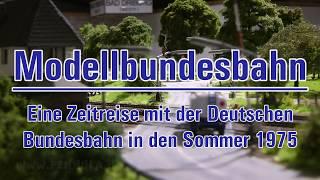 """Modelleisenbahn """"Modellbundesbahn"""" - Eine Modellbahn-Reise in Spur H0 mit der Deutschen Bundesbahn"""