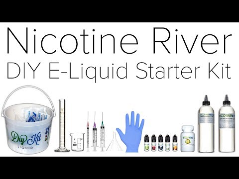 Nicotine River DIY E Liquid Starter Kit Review