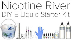 Nicotine River DIY E Liquid Starter Kit Review