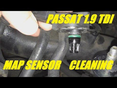 MAP SENSOR CLEANING VW PASSAT 1.9 TDI 101 AVB