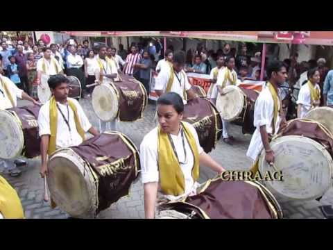 morya..... nashik dhol ganesh gallii 2013...$$** Travel Video
