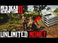 RED DEAD REDEMPTION 2 *NEW* UNLIMITED MONEY GLITCH!