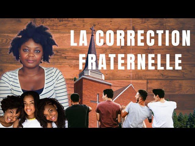 La correction fraternelle   #GrâceNo