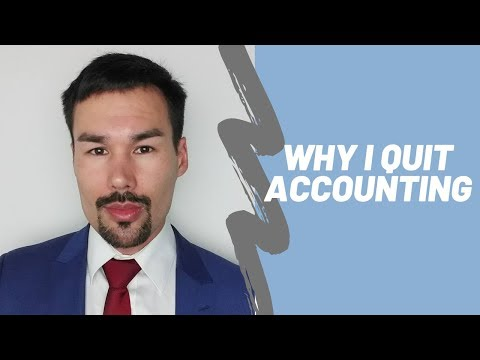 I Hate Accounting | Why I Quit My Job