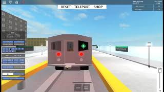 ROBLOX STR - THE STC R62 HAS ENTERED INTO STR & IS RUNNING SMOOTH!! || w/ Little Duvon G