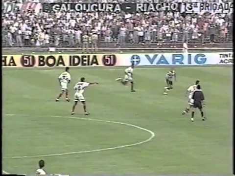 Atlético 2x1 São Paulo - Brasileiro 1996 Renaldo e Euller