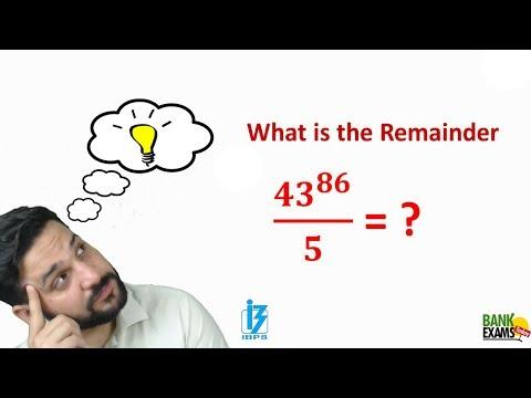 Remainder Theorem Shortcut Technique