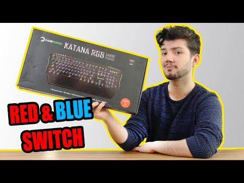Aylardır İstediğiniz Fiyat Performans Mekanik Klavye KATANA RGB
