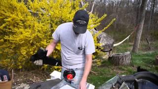 assembling a troy bilt model tb2044 xp trimmer