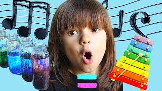 Интересные эксперименты с Andrey El Rey, музыка на бутылках. Easy DIY Science experiments.