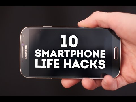 10 SMARTPHONE LIFE HACKS YOU SHOULD KNOW!
