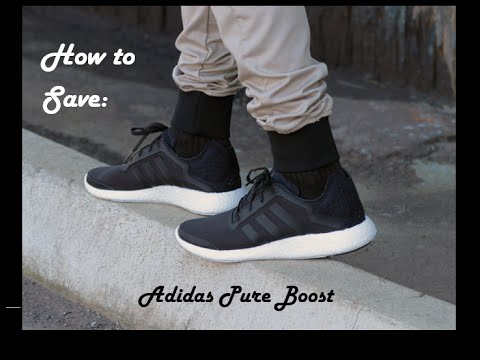 fbff0342cef21 How to Save Money on Adidas Pure Boost - YouTube