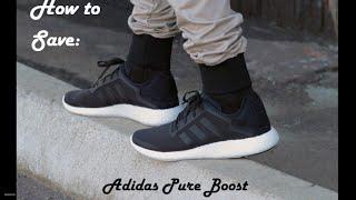 Adidas Pure Boost Mens Black