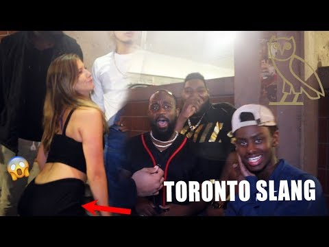 HOW WELL DO PEOPLE KNOW TORONTO SLANG?! *WORDS FROM THE 6*
