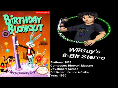 The Bugs Bunny Birthday Blowout (NES) Soundtrack - 8BitStereo