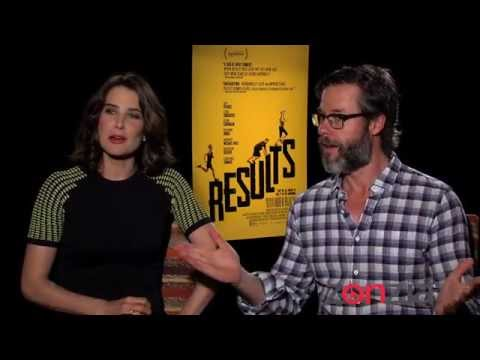 Colbie Smulders And Guy Pearce At The Results NY Junket
