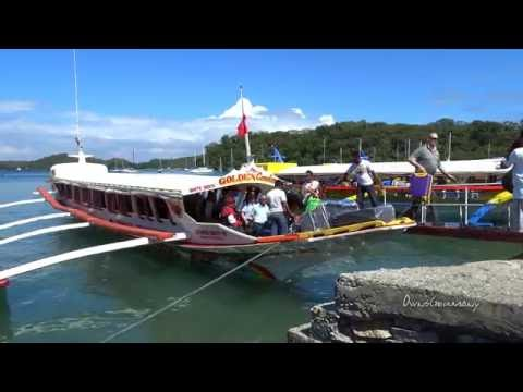 Banca Boat Experience to Puerto Galera Philippines from Bataganas