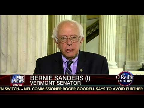 Sen. Sanders on The O'Reilly Factor