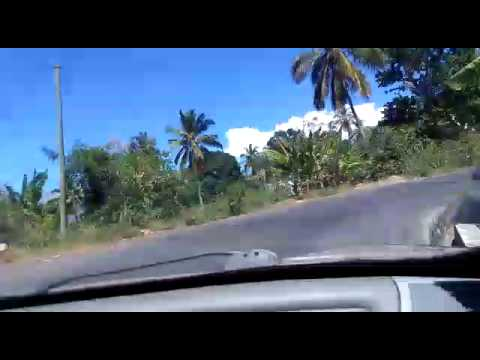 Comoros - Road Travel - Time Lapse