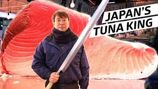 The Tuna King Reigns at Tsukiji Fish Market - Omakase Japan