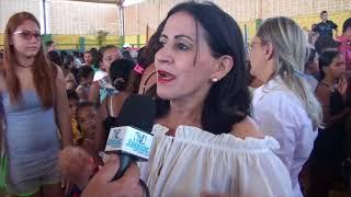 Quixeré: festa da criança no distrito de Lagoinha