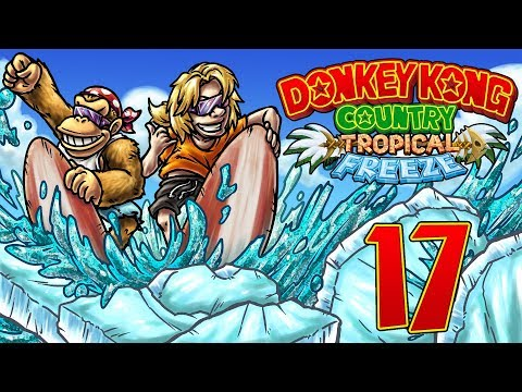 Let's Replay Donkey Kong Country Tropical Freeze [German][Funky-Modus][#17] - Fisch & Schimps!