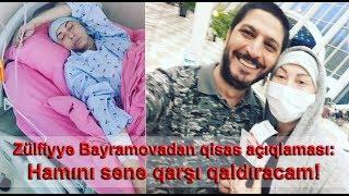 Zülfiyyə Bayramovadan qisas açıqlaması: Hamını sənə qarşı qaldıracam!