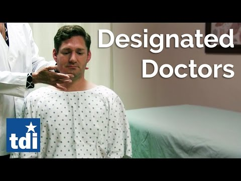 Designated Doctors   Division Of Workers' Compensation