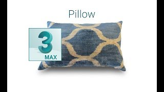 How to Design Pillow in 3ds Max.mp4 [Full Video Tutorials]