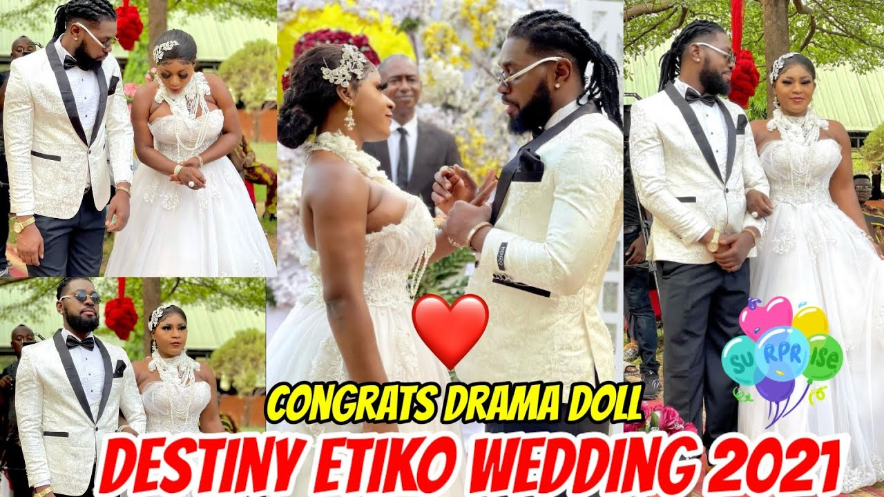 Download Destiny Etiko and Jerry Williams Traditional Wedding 2021. Congrats drama doll 🎁