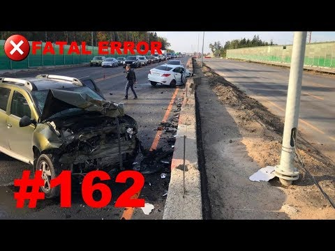 ????????????[ONLY NEW] Russian Car Crash Compilation (7 October 2018) #162