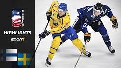 Weltmeister raus: Finnland - Schweden 5:4 | Highlights | Eishockey WM 2019 | SPORT1