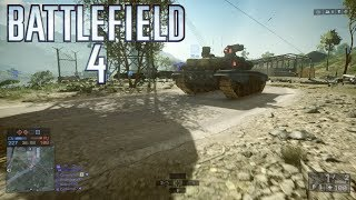 Battlefield 4: Multiplayer #190 ::Conquest:: A Lonely Tank - No Commentary