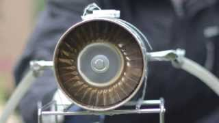 Homemade Axial Jet Engine