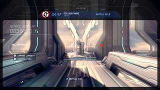 Halo 4 - Bobo the aids monkey - live voice KOTH with Greenskull!