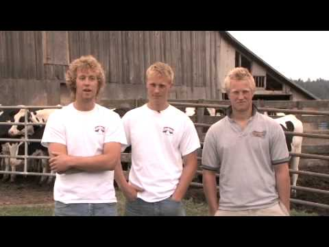 BC Dairy Farmers - Meet the Vankeulen Family