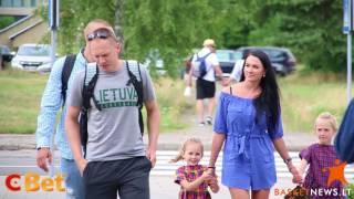 Lietuvos rinktinė susirinko į treniruočių stovyklą Palangoje