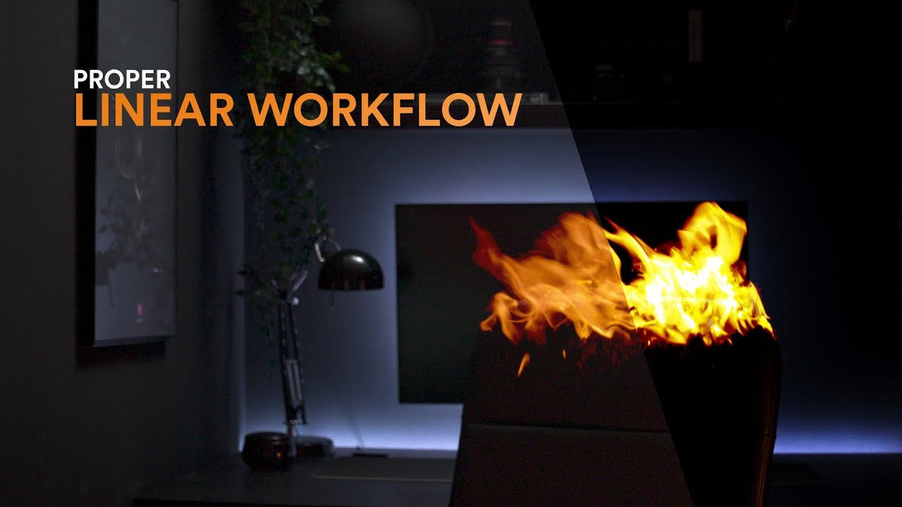 Proper Linear Workflow | Fusion, AE, PS, Octane, C4D