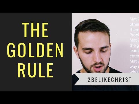 Communicating The Gospel In The Golden Rule    Matthew 7    2BeLikeChrist