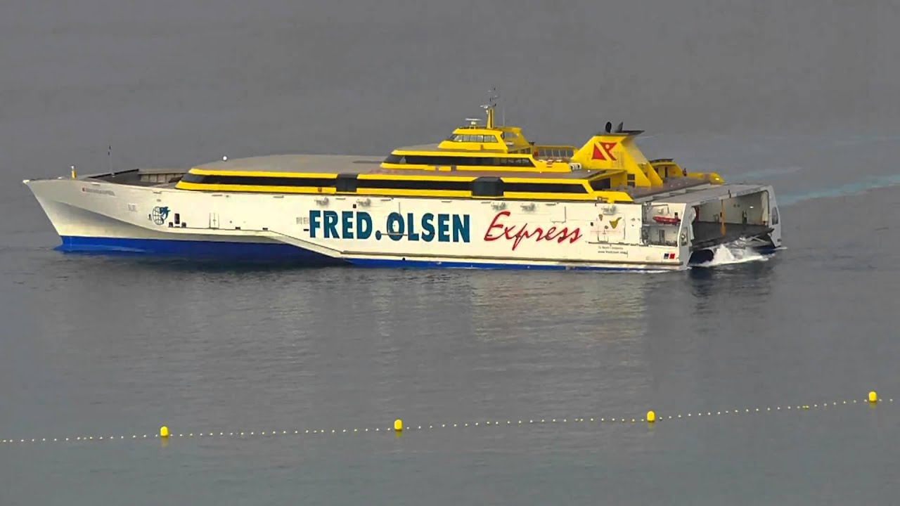 fred olsen express tenerife los cristianos full hd