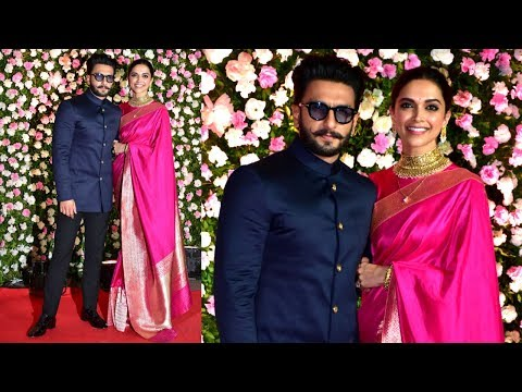 POWER COUPLE Ranveer Singh And Deepika Padukone At Kapil Sharma and Ginni Chatrath Wedding Reception