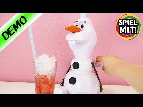 ICE Slush selber machen mit FROZEN OLAF Eismaschine | Eiskönigin Eis für Kinder | Olaf im Sommer